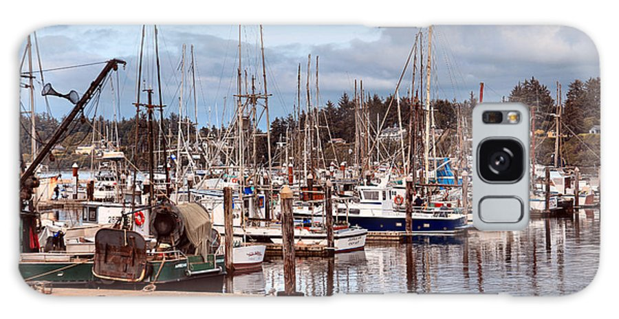 Charleston Galaxy S8 Case featuring the photograph Charleston Marina Fishing Boats by Sally Bauer