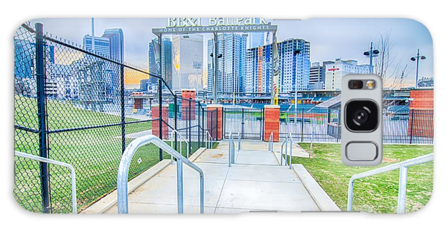 2014 Galaxy S8 Case featuring the photograph Charlotte Ballpark by Alex Grichenko