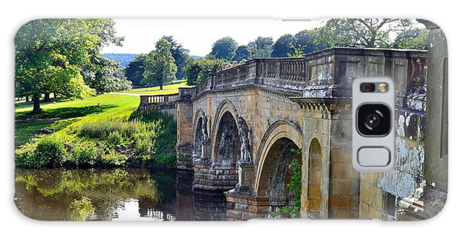 Landscapes Galaxy S8 Case featuring the photograph Chatsworth Bridge by Moments In Time Photographics