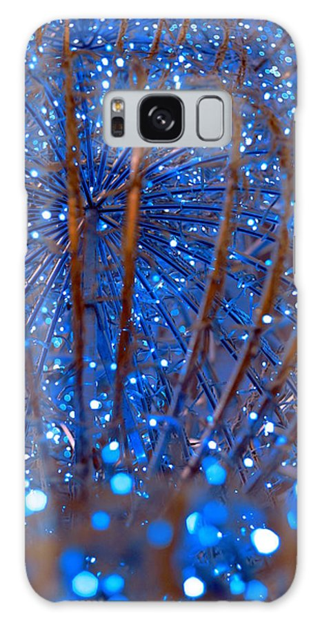 Holiday Galaxy S8 Case featuring the photograph Christmas Lights by Valentino Visentini