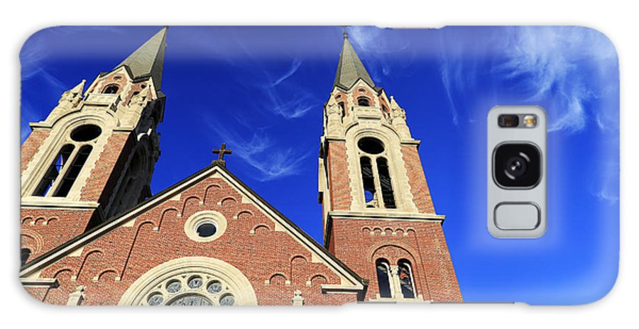 Holy Hill Galaxy S8 Case featuring the photograph Church In The Clouds by Alexandra Pollett