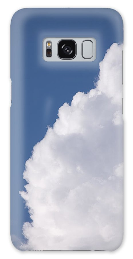 Cumulus Congestus Galaxy S8 Case featuring the photograph Clouds by Bernard Lynch