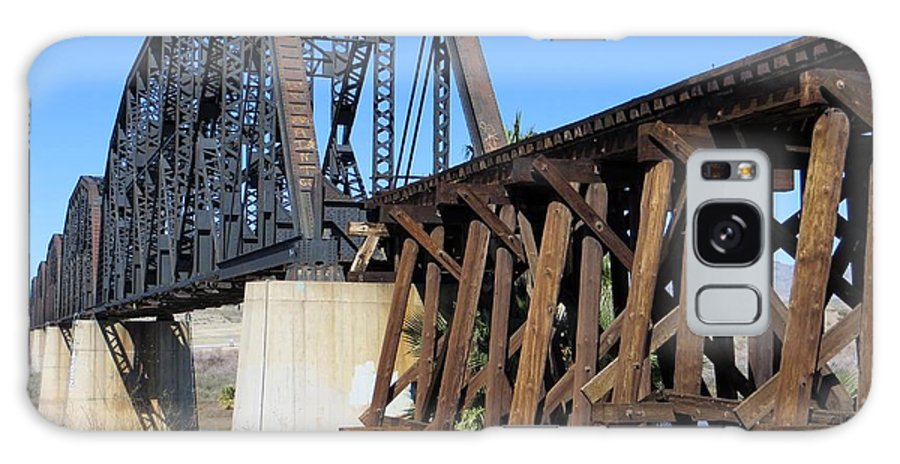 Train Galaxy S8 Case featuring the photograph Colorado Crossing by Jim Romo