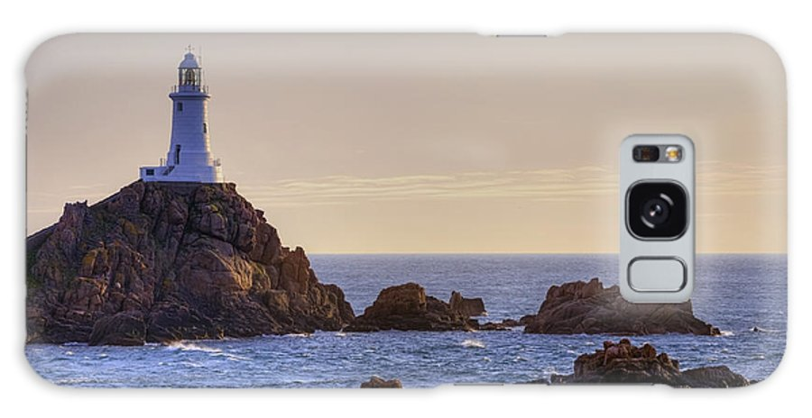 La Corbiere Lighthouse Galaxy S8 Case featuring the photograph Corbiere Lighthouse - Jersey by Joana Kruse