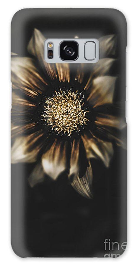 Darkness Galaxy S8 Case featuring the photograph Dark Grave Flower By Tomb In Darkness by Jorgo Photography - Wall Art Gallery