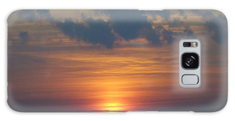 Sun Galaxy Case featuring the photograph Day's End by Rennae Christman