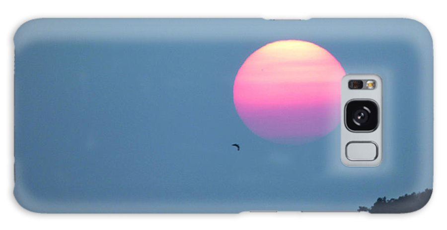 Landscape Galaxy Case featuring the photograph Delta Lake Sunset by Rennae Christman