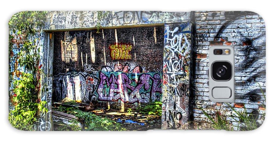 Graffiti Galaxy S8 Case featuring the photograph Address Unknown by Daniel Gundlach