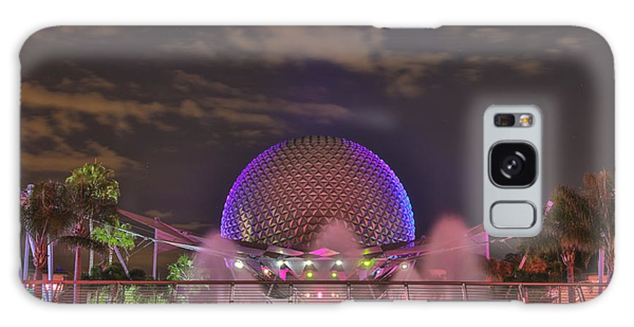 Hollywood Galaxy S8 Case featuring the photograph Epcot by Jimmy McDonald