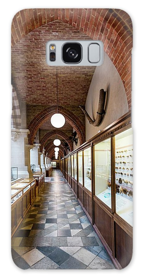 Exhibit Galaxy S8 Case featuring the photograph Exhibits At The Oxford University Museum Of Natural History by Oxford University Images/science Photo Library