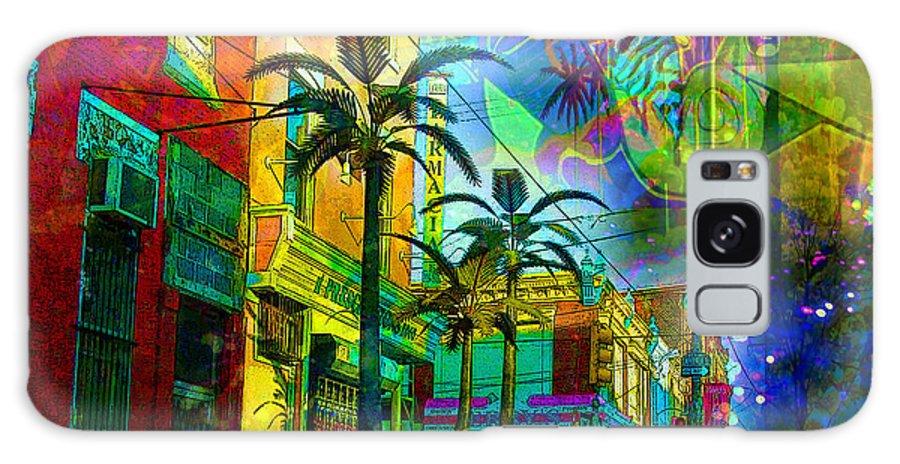 Urban Galaxy S8 Case featuring the digital art Fiesta Time by Brilliant Hues