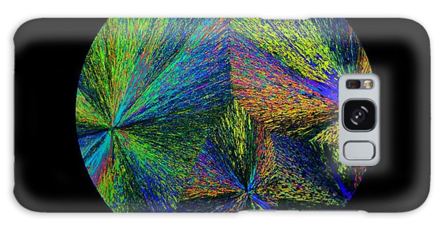 Abstract Galaxy S8 Case featuring the photograph Fireworks by Randy Beach