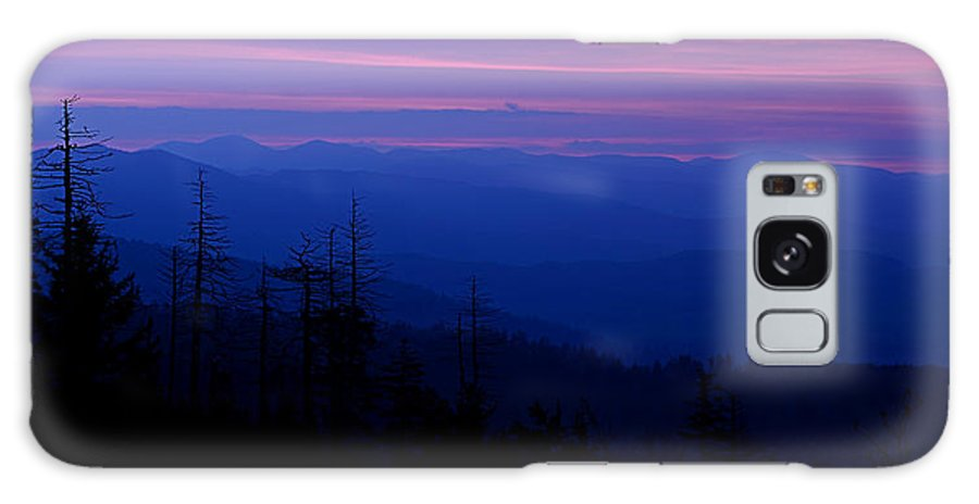 Sunrise Galaxy S8 Case featuring the photograph First Light Over The Smokies by Eric Albright