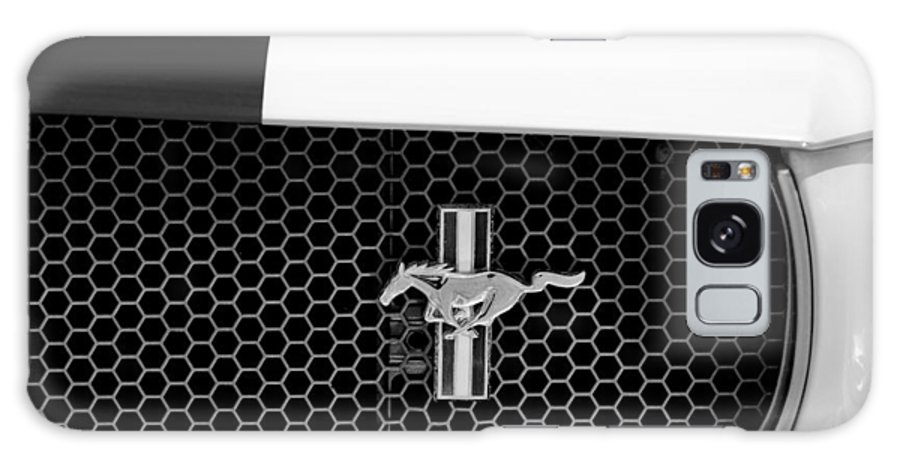 Ford Mustang Gt 350 Grille Emblem Galaxy S8 Case featuring the photograph Ford Mustang Gt 350 Grille Emblem by Jill Reger