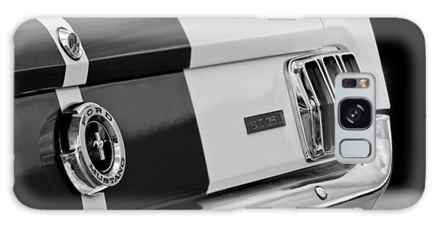 1966 Ford Shelby Mustang Gt 350 Taillight Galaxy S8 Case featuring the photograph 1966 Ford Shelby Mustang Gt 350 Taillight by Jill Reger