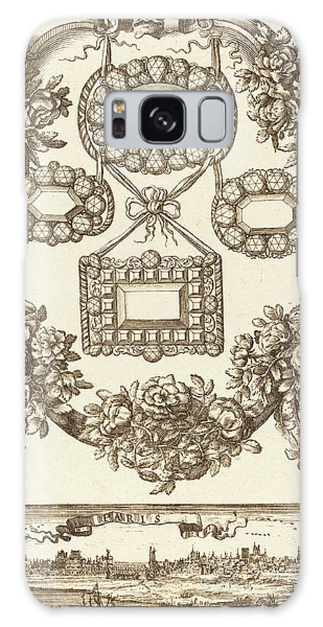 François Galaxy S8 Case featuring the drawing François Le Febvre French, Active 1635-1657 by Quint Lox
