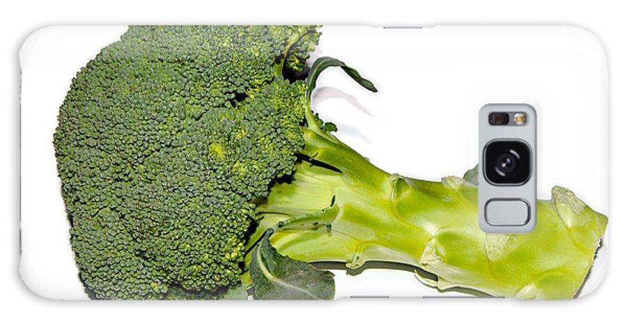 Broccoli Galaxy S8 Case featuring the photograph Fresh Raw Green Broccoli by Frank Gaertner