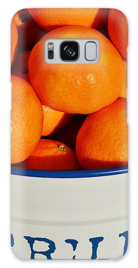 Close Up; Orange; Mandarin; Green; Lime; Fruits; Citus; Tree Galaxy S8 Case featuring the photograph Fruit by Werner Lehmann