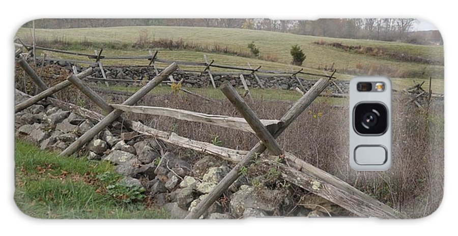 Gettysburg Galaxy S8 Case featuring the photograph Gettysburg Fence Row 3 by Lanette Baker