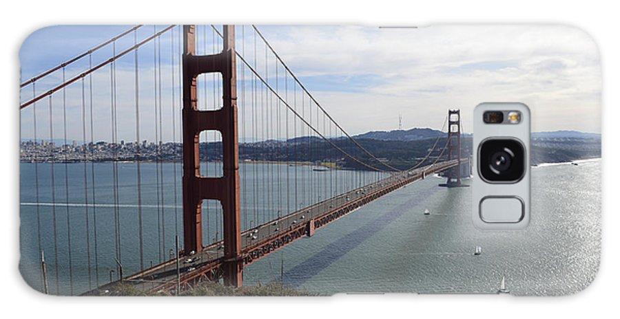 San Francisco Galaxy S8 Case featuring the photograph Golden Gate Bridge - San Francisco by S Mykel Photography