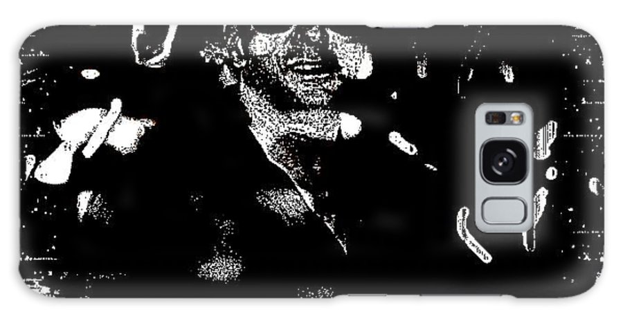 Red Galaxy S8 Case featuring the photograph Goody Adams by HollyWood Creation By linda zanini