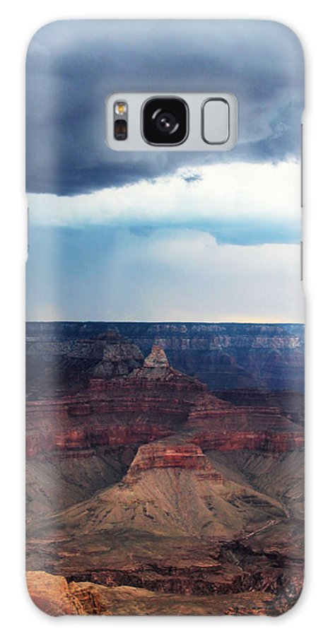 Storm Galaxy S8 Case featuring the photograph Grand Canyon Storm by Valerie Loop