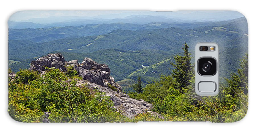 Grayson Highlands State Park Galaxy S8 Case featuring the photograph Grayson Highlands by Mel Hensley