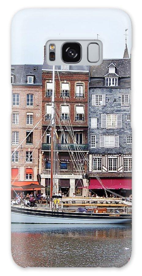 Honfleur Galaxy S8 Case featuring the photograph Honfleur by Thomas Leon