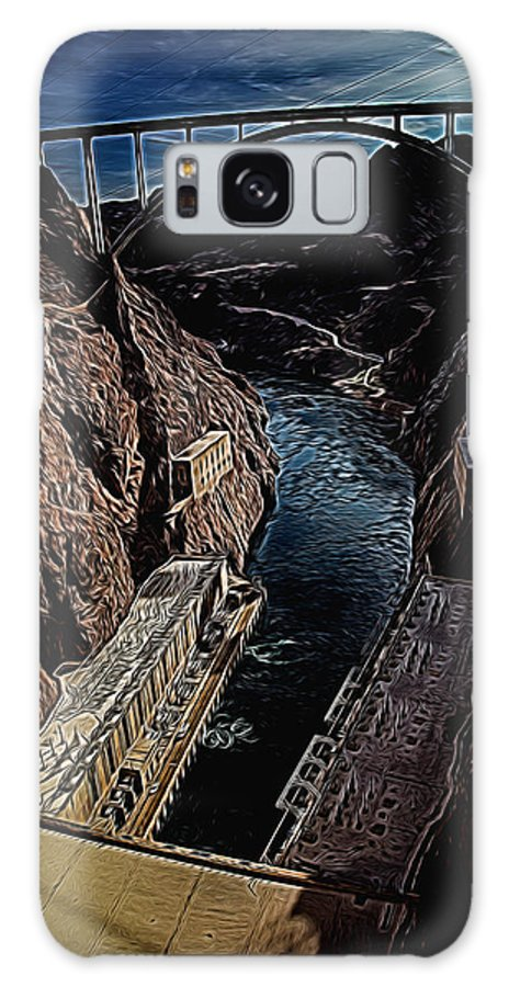 Hoover Dam Galaxy S8 Case featuring the photograph Hoover Dam by Melvin Busch