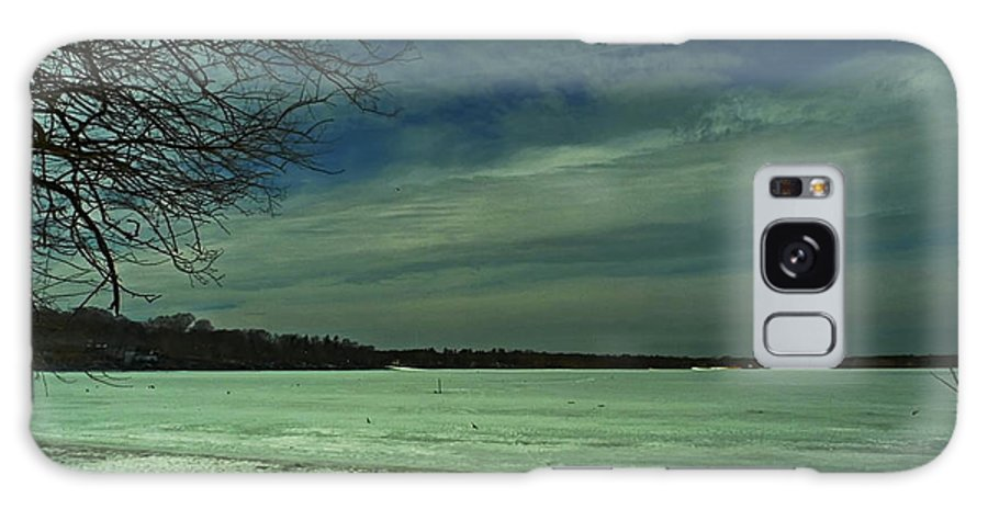 Winter Galaxy S8 Case featuring the photograph Icing On The Lake by Tony Ambrosio