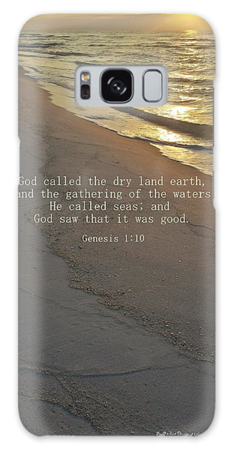 Genesis 1:10 Galaxy S8 Case featuring the photograph In The Beginning... by Roe Rader