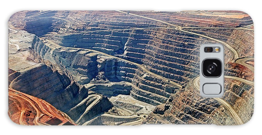Mineral Galaxy Case featuring the photograph Kcgm. Gold Mine,western Australia by John W Banagan