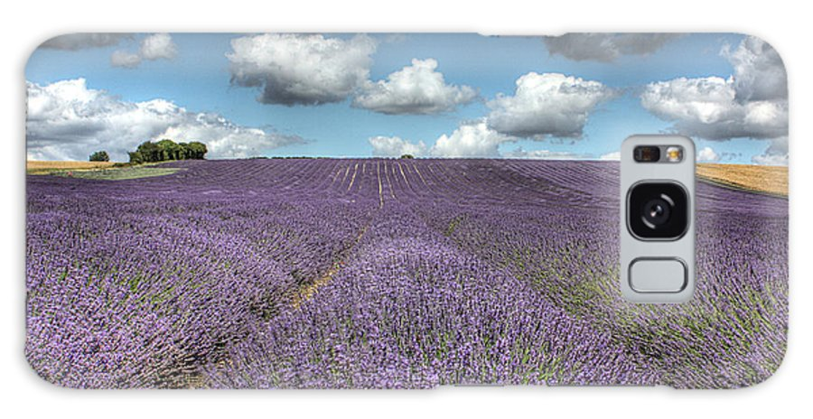 Lavender Field Galaxy S8 Case featuring the photograph Lavender Field by Graham Custance
