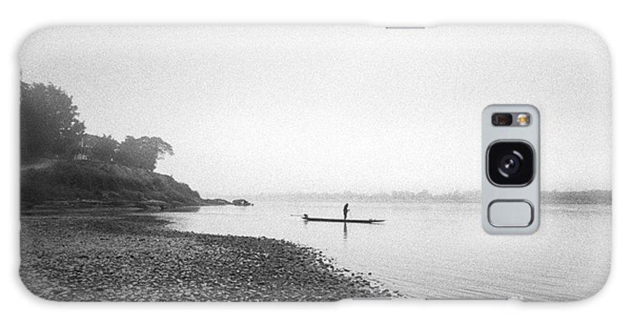 Mekong River Galaxy S8 Case featuring the photograph Life At Mekong River by Setsiri Silapasuwanchai