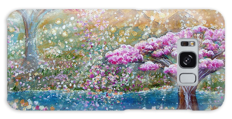 Spring Galaxy S8 Case featuring the painting Light Of Spring by Ashleigh Dyan Bayer