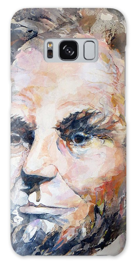 Lincoln Galaxy S8 Case featuring the painting Lincoln Legacy by Beverly Berwick