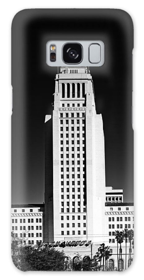Los Angeles Galaxy S8 Case featuring the photograph Los Angeles City Hall by Mountain Dreams