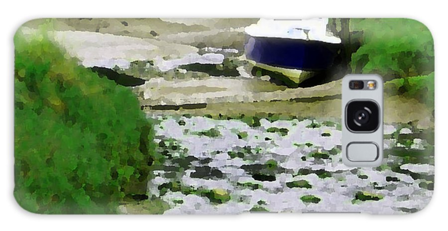 Grass Galaxy S8 Case featuring the photograph Low Tide by Robert Edgar