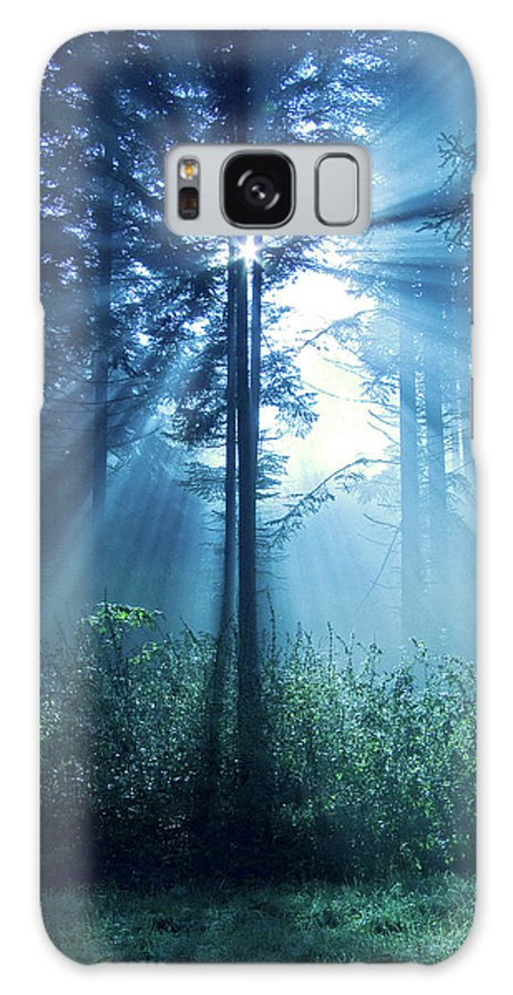 Nature Galaxy Case featuring the photograph Magical Light by Daniel Csoka