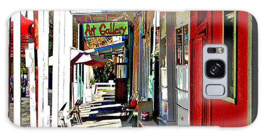 Main Street Locke California Galaxy S8 Case featuring the photograph Main Street Locke California by Joseph Coulombe