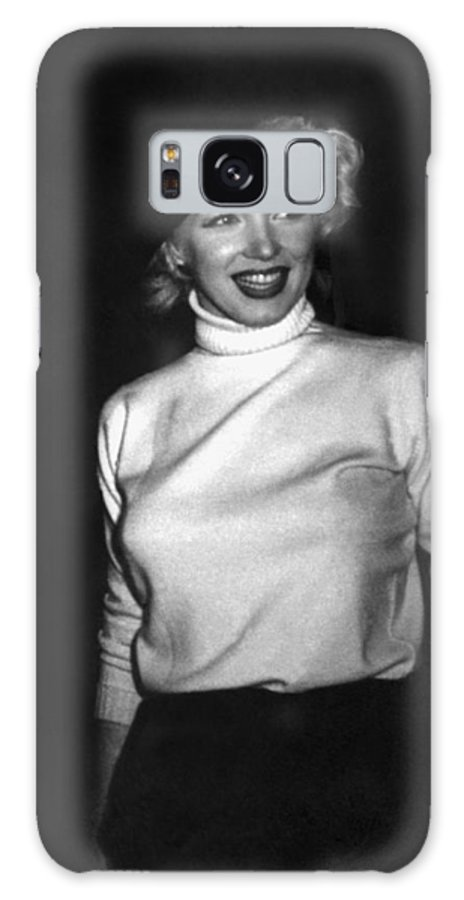 1954 Galaxy Case featuring the photograph Marilyn Monroe In Korea by Underwood Archives