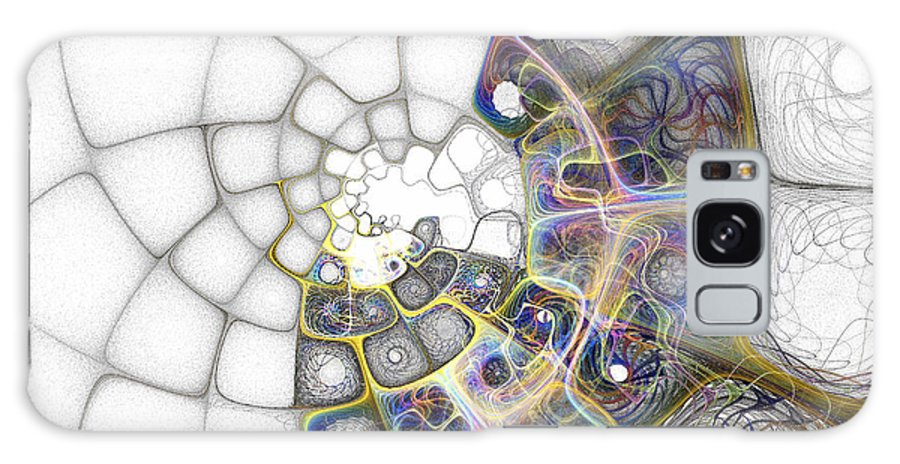 Digital Art Galaxy Case featuring the digital art Memories by Amanda Moore