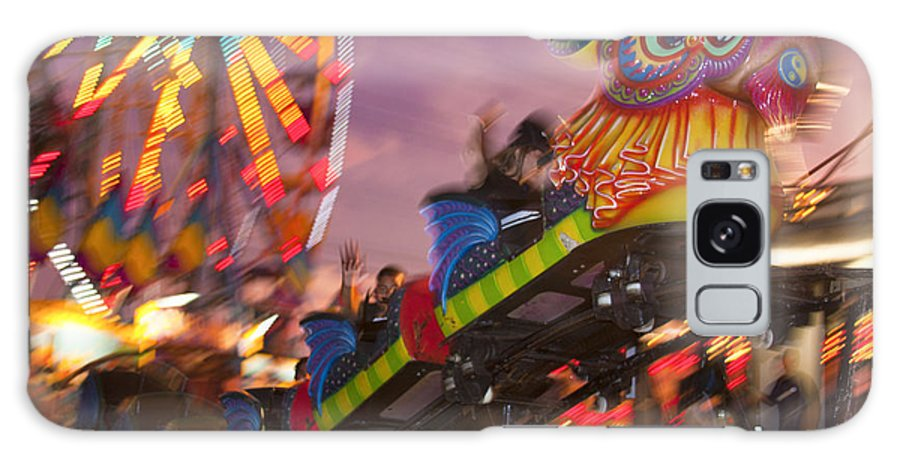 Carnival Galaxy S8 Case featuring the photograph Merry Go Round by Tony Reilly