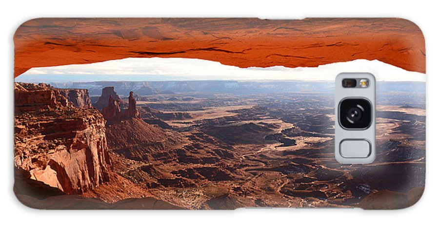 Mesa Arch Galaxy S8 Case featuring the photograph Mesa Arch by Thomas and Thomas Photography