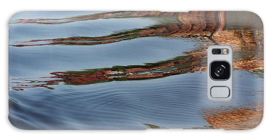 Mississippi River Galaxy S8 Case featuring the photograph Mississippi Reflections by Heidi Brandt
