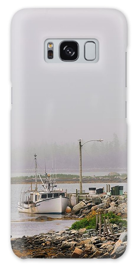 Mist Galaxy S8 Case featuring the photograph Misty Morning by Brian McNulty