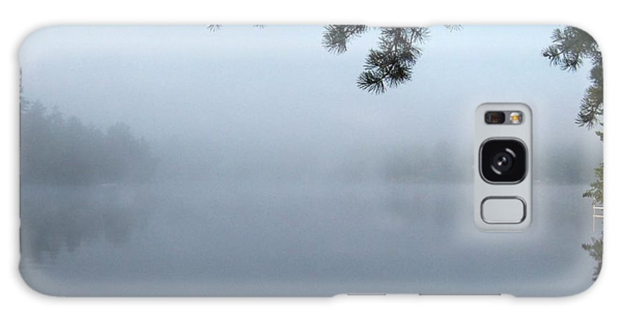 Mist Galaxy S8 Case featuring the photograph Misty Morning On The Lake by Catherine Gagne
