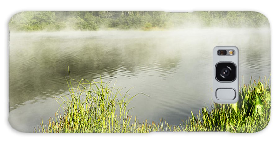 Big Ditch Lake Galaxy S8 Case featuring the photograph Misty Summer Morning by Thomas R Fletcher