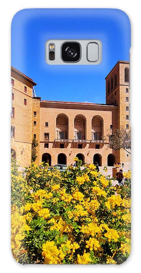 Flower Galaxy S8 Case featuring the photograph Monastery In Montserrat by Karol Kozlowski