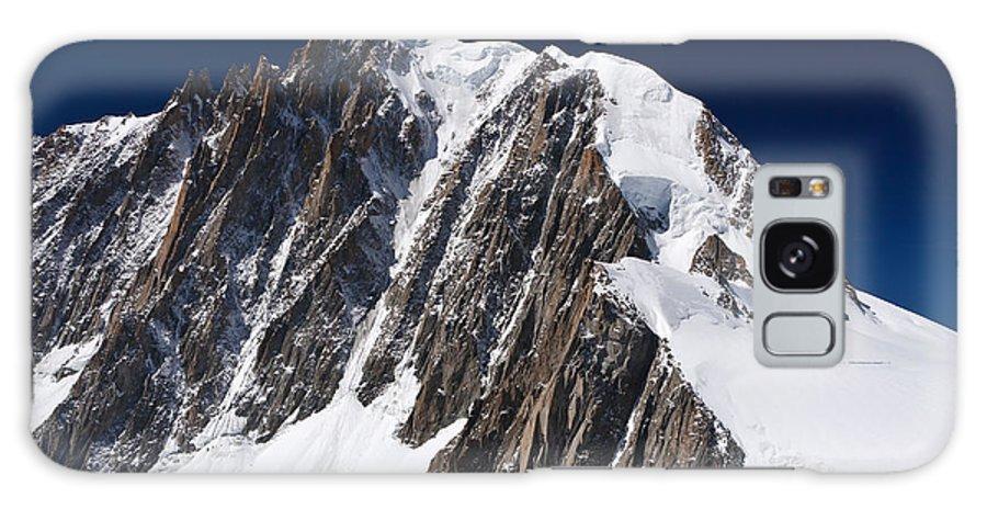 Alpine Galaxy S8 Case featuring the photograph Mont Blanc Massif by Antonio Scarpi